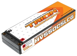 とりおん TSGB-SLCG5500HV TRION Si-GRAPHENE Li-Po Battery 5500mAh/7.6V/130C Super LCG 5mm