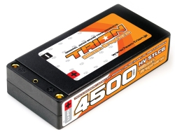 とりおん TSGB-STLCG4500HV TRION Si-GRAPHENE Li-Po Battery 4500mAh/7.6V/130C LCG Shorty