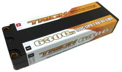 とりおん TB-6300HV5 TRION Li-Po Battery 6300mAh/7.4V/100C Reversibe 5mm (46.6Wh)