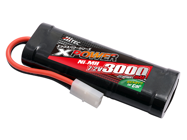 ハイテック XP3000SCP XPOWER Ni-MH 7.2V 3000mAh(for Car)