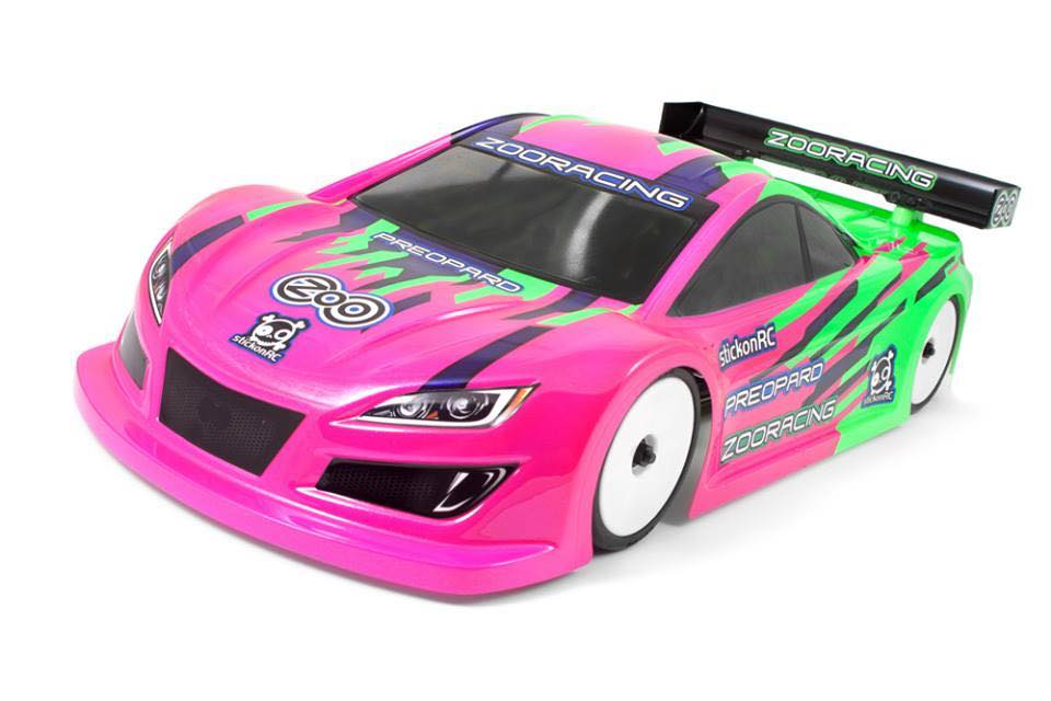 RC-MISSION ZR-0002-05  ZooRacing プレオパード ボディ(0.5mm/190mm)