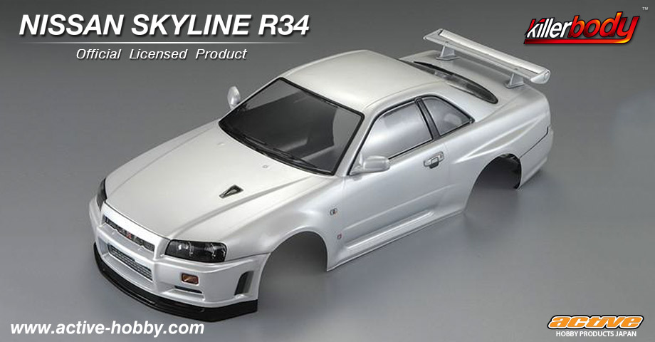 Killerbody KB48626 NISSAN SKYLINE R34 クリアボディセット