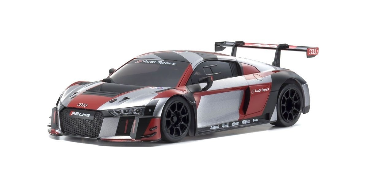 京商 MZP234RGB ASC MR03RWD Audi R8 LMS 2016 Gray/Red